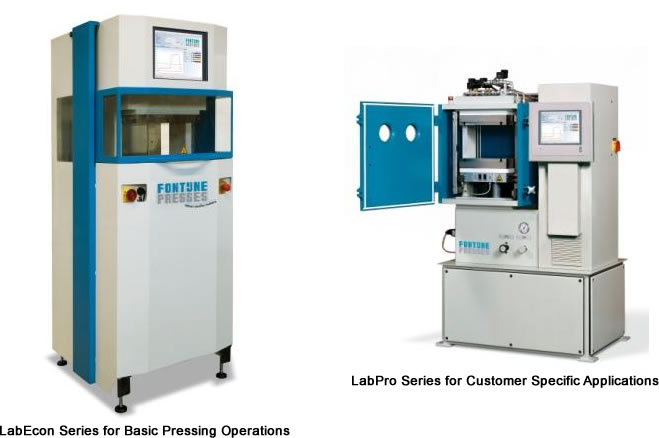 LabEcon Series for Basic Pressing Operations & LabPro Series for Customer Specific Applications